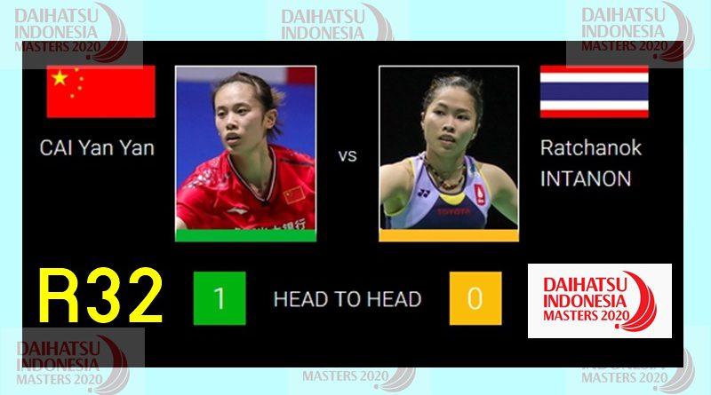 R32 |WS| เมย์-รัชนก (THA) vs (CHN) CAI Yan Yan